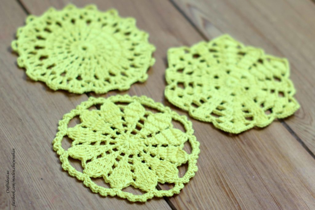 Crochet dishcloths for our home