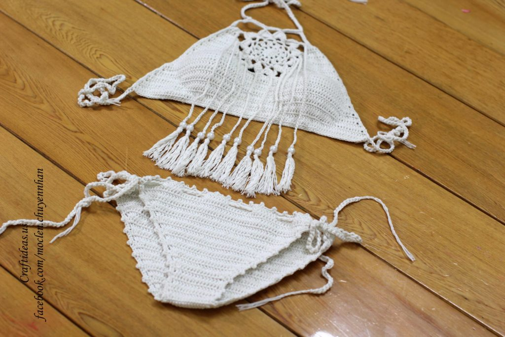 Crochet set of dream catcher for summer
